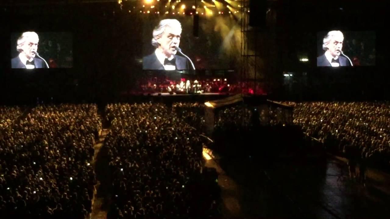 Andrea Bocelli no Allianz Parque