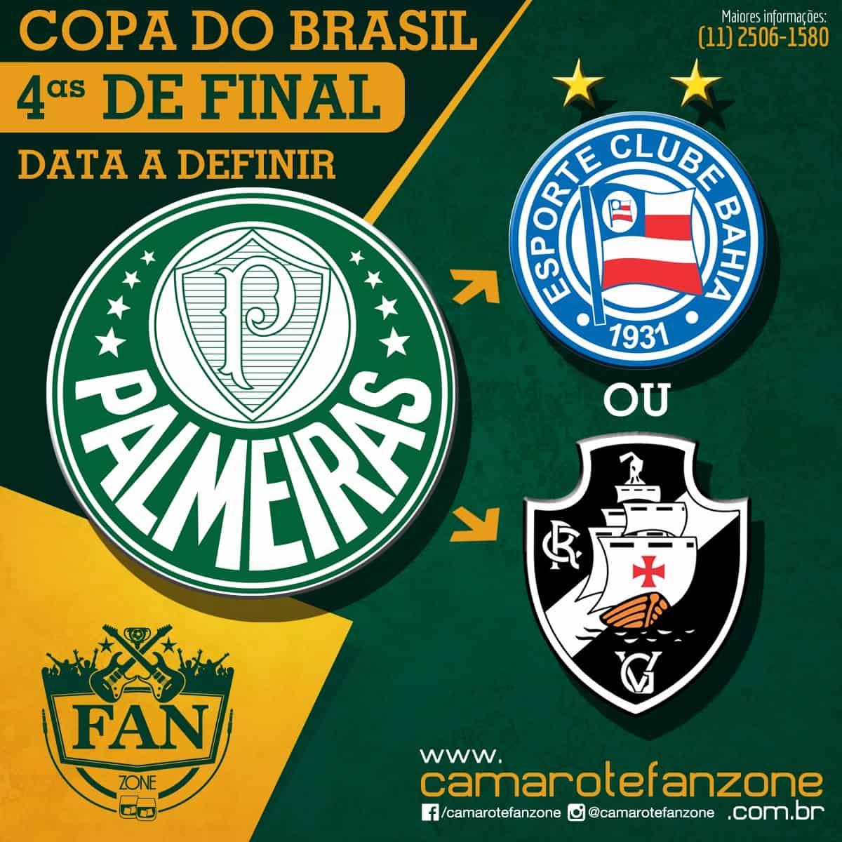 Palmeiras x Bahia ou Vasco no Allianz Parque